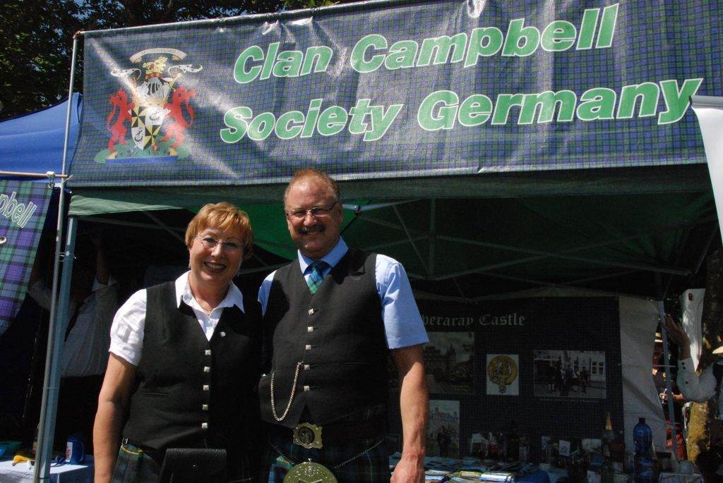 Susane and Michael Enders travelled from Cologne for the games.