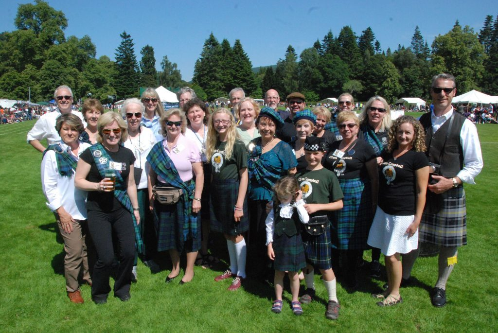 Members of the Clan Campbell Society of North America felt at home in their ancestral land.