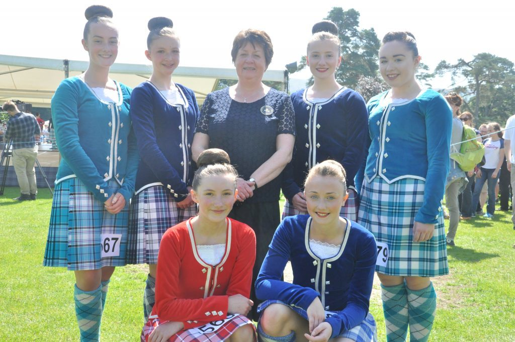 Margaret Mather retiring after 26 years at the helm is joined by Argyll's premier Highland Dancer for a farewell