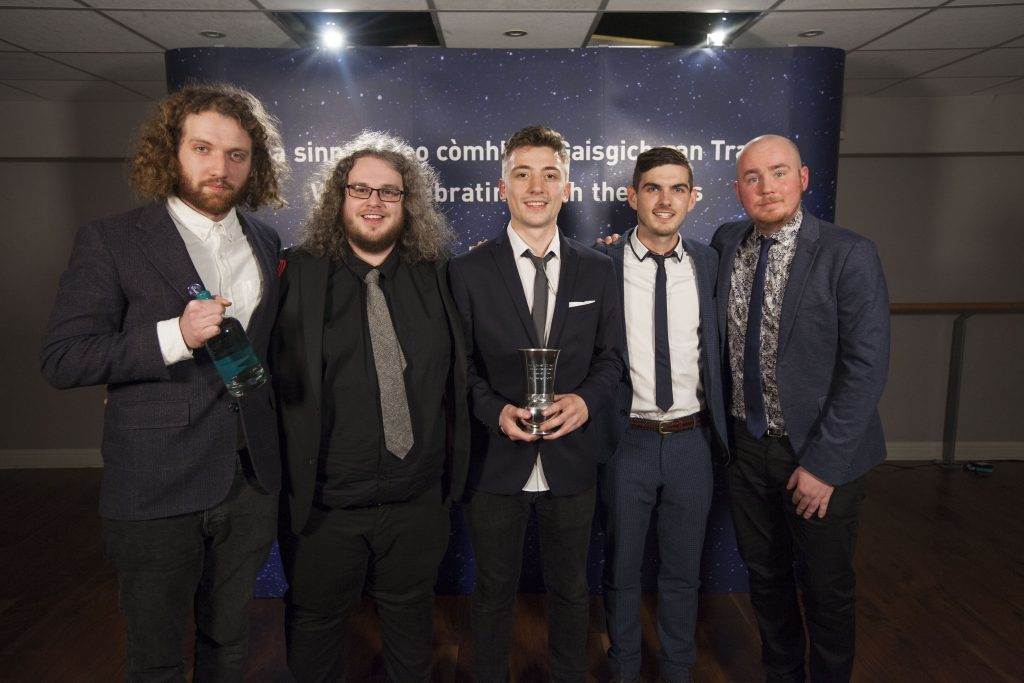 Winner of Album of the year, Elephant Sessions for all we have is now. Picture by Chris James.