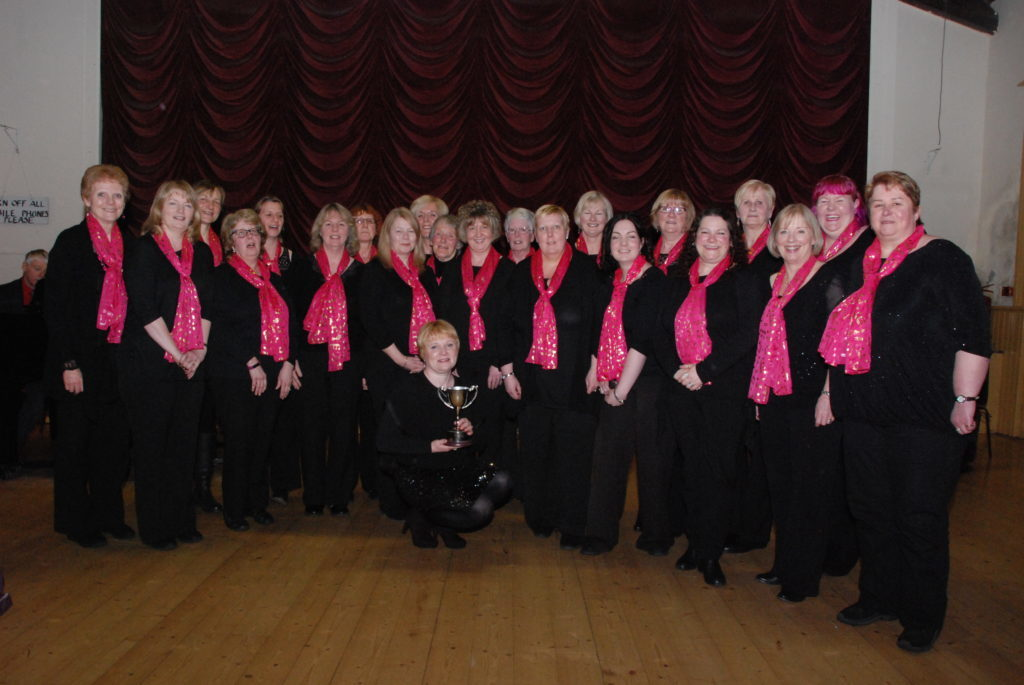 Sequence Ladies Choir triumphed in the adult choir competition, winning the Ward Cup.