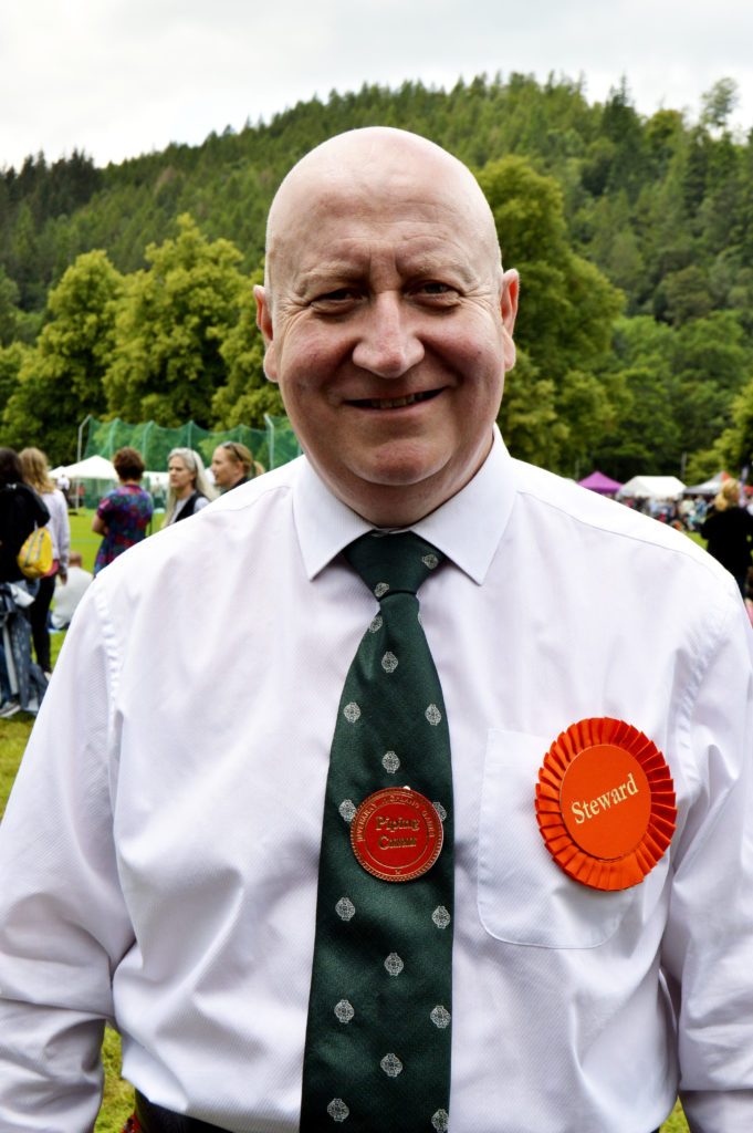 Piping convenor James Beaton, now living in Glasgow, but from Inveraray and a former pupil of Lochgilphead and Oban High Schools.  He said the entry numbers were strong and so was the standard of playing: 'It is good to see so many young players coming through'.JS29INVGAMES18