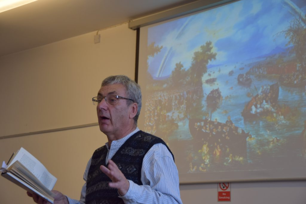 Donald S Murray revealed fascinating facts about the importance of the humble herring in European cultures