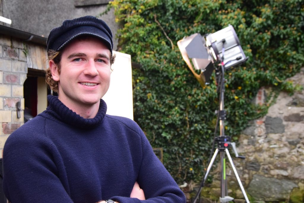 Director Charlie Rose - 'filming in Argyll more than worth the challenges'