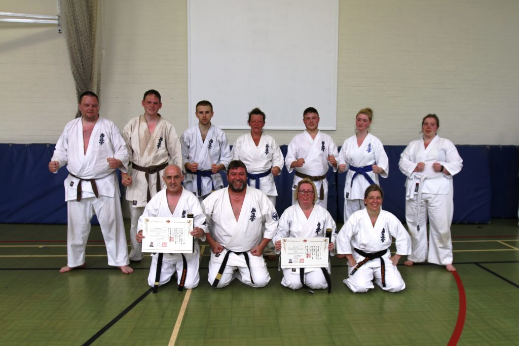 Lochgilphead martial artists excel at training camp