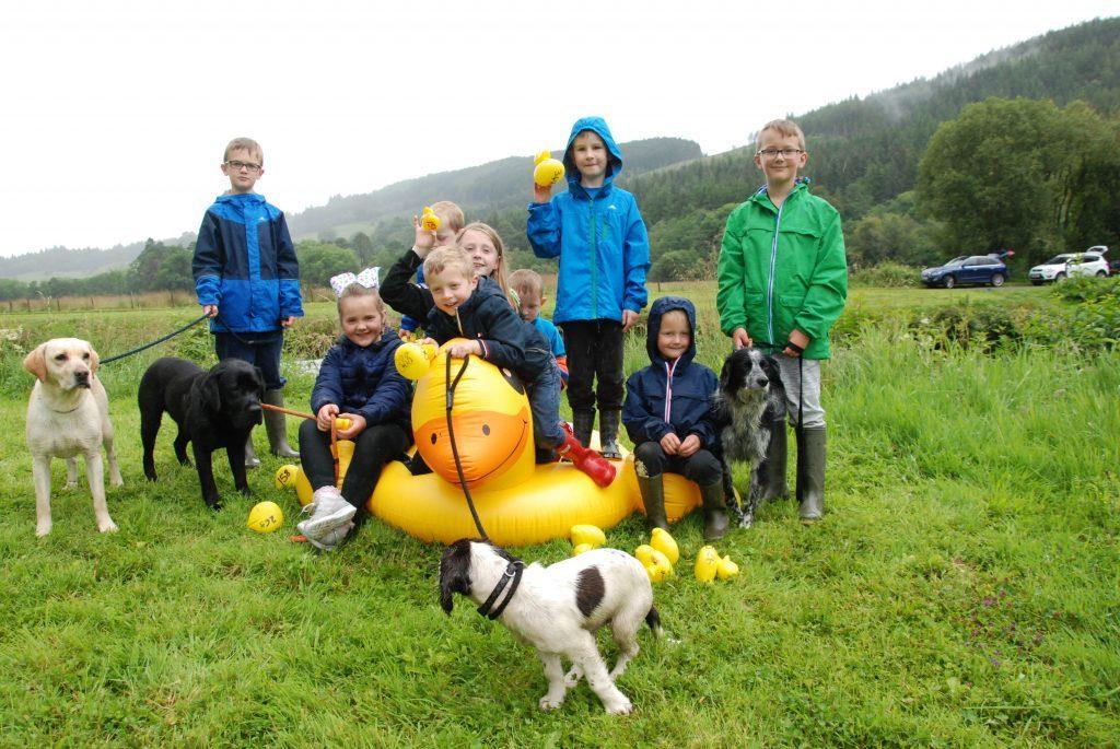 A quacking day of Inveraray fundraising