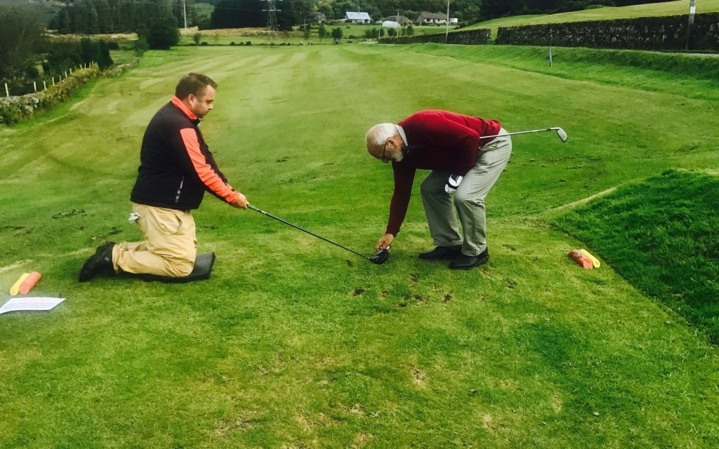 Lochgilphead members tackle captains' day