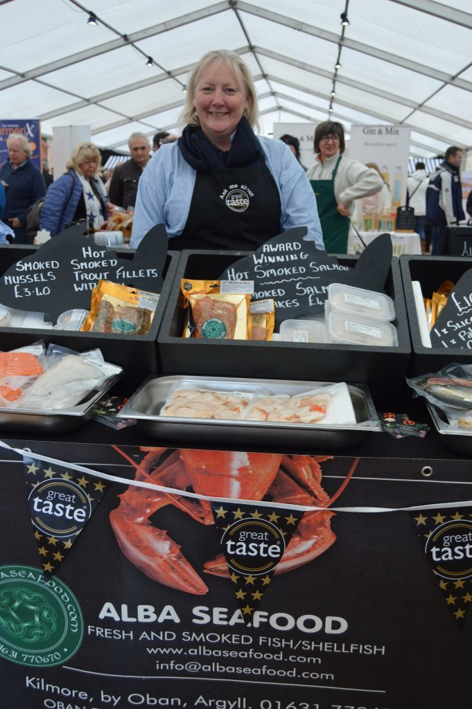 Floating the boat for Argyll food and drink
