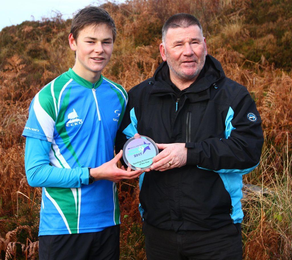 Loch Eck orienteer athlete wins achievement award