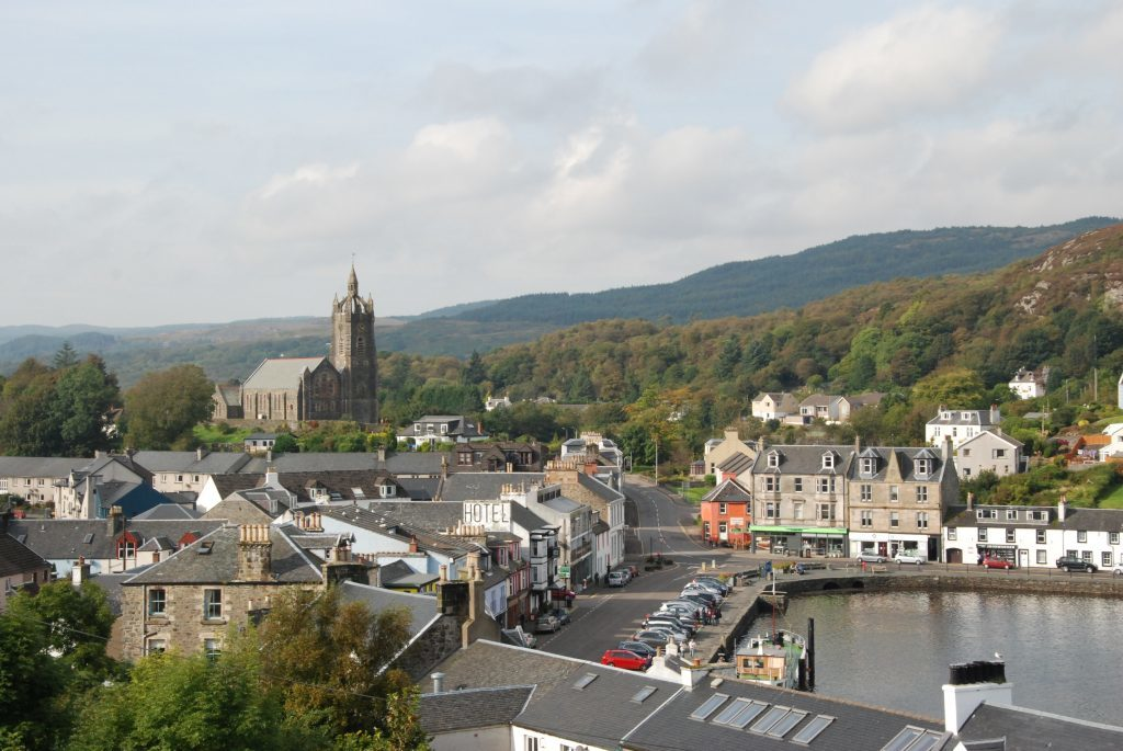 Tarbert gets apology as sewage plans unveiled