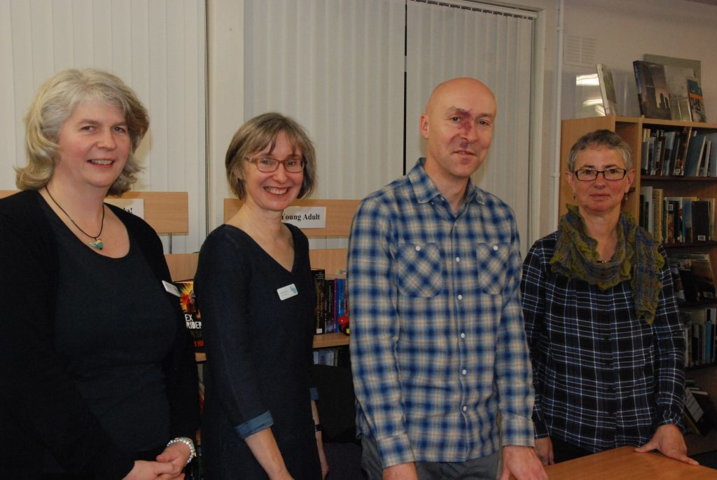 Chris Brookmyre delights Lochgilphead readers