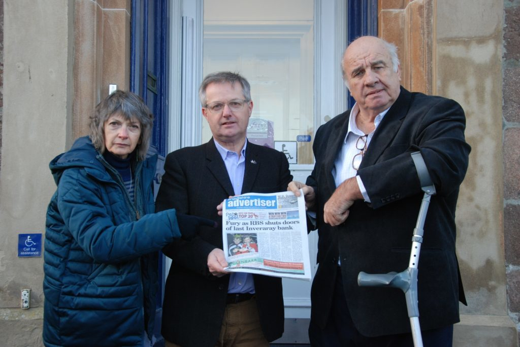 Inveraray must push to keep branch open