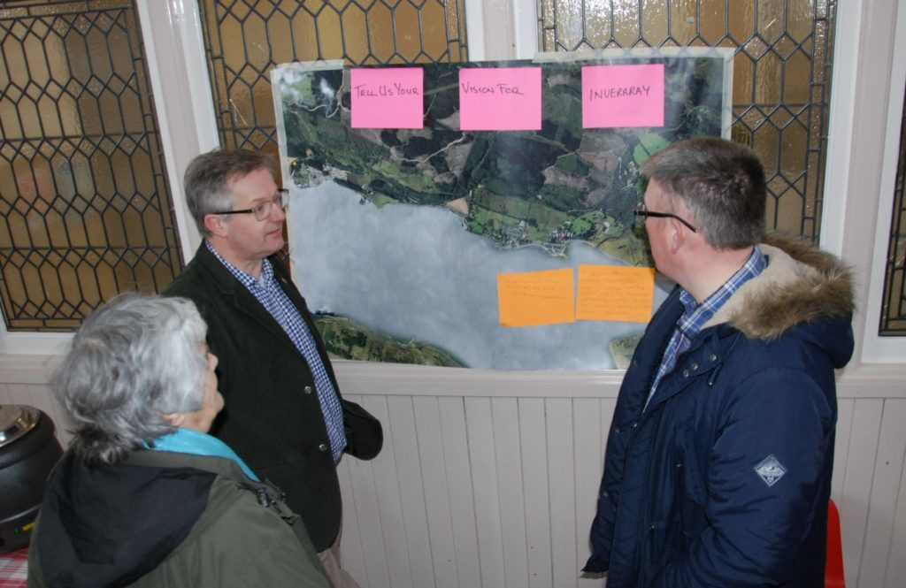 MP urges Inveraray folk to get involved after low turnout