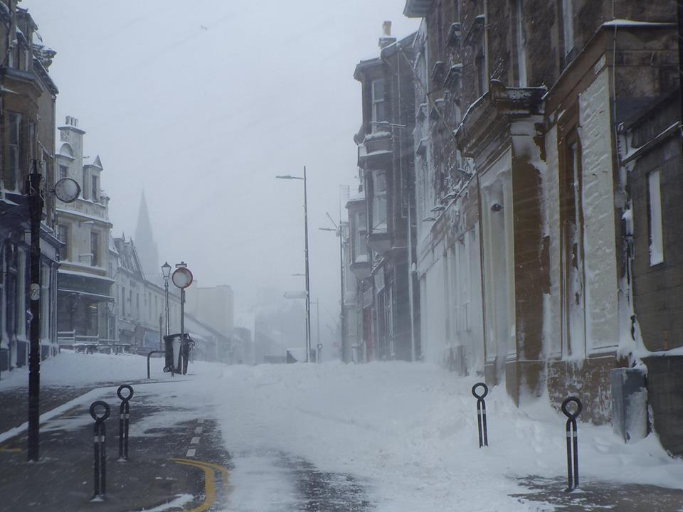 Siberian cold snap spares most of Argyll