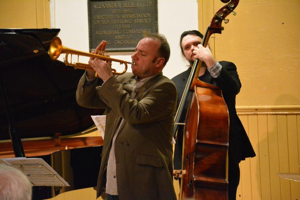 Colin Steele Quintet thrills packed Ardrishaig hall