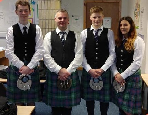 Lochgilphead Joint Campus pipe to success