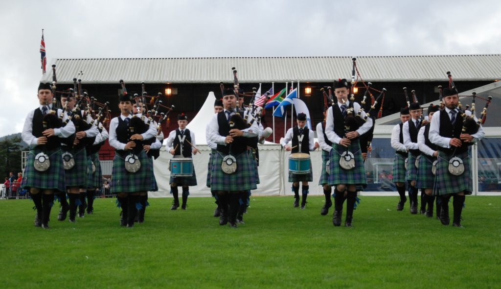 Mid Argyll band all kitted out and raring to go