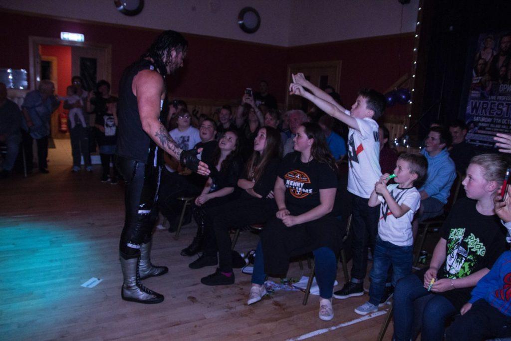 Wrestling slams into Tarbert