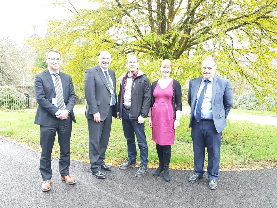 Spotlight on farming and rural issues at Kilmory