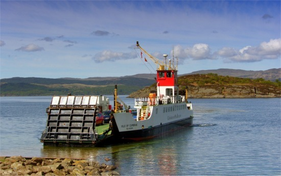 Ferry suspended after rope fouls propellers