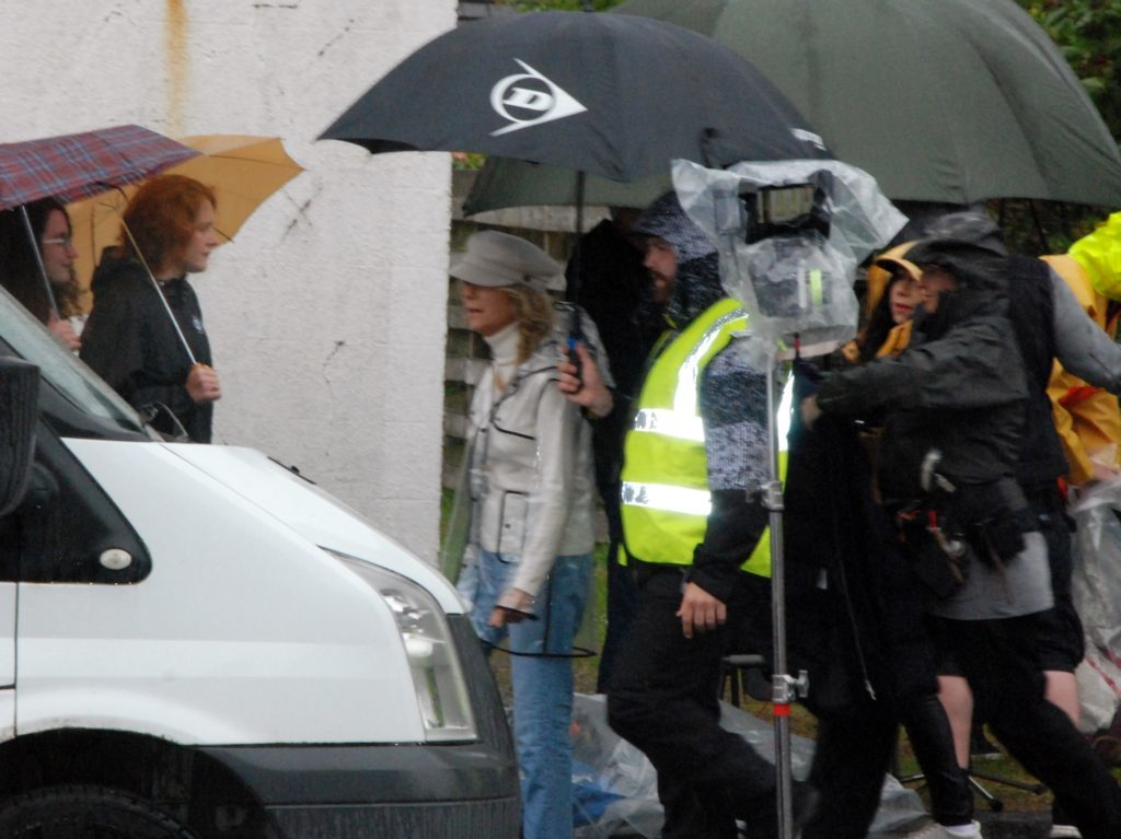 Hollywood comes to Lochgilphead and Inveraray