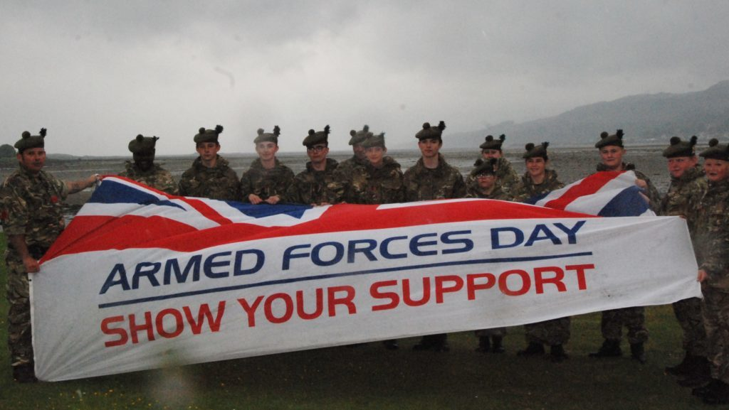 Armed Forces Day marches back to Lochgilphead