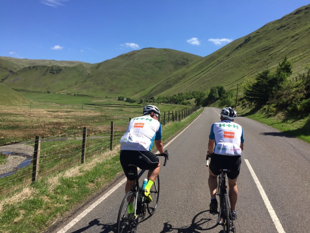 Charity cyclists pedal to beat prostate cancer