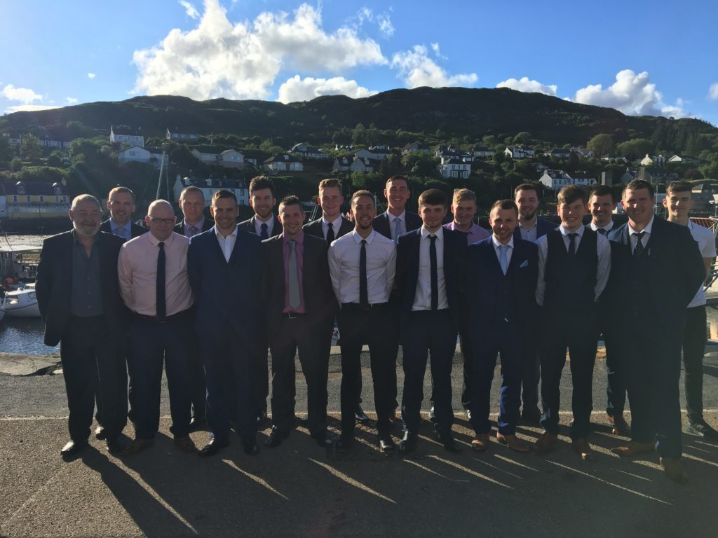A poignant prizegiving for Tarbert AFC