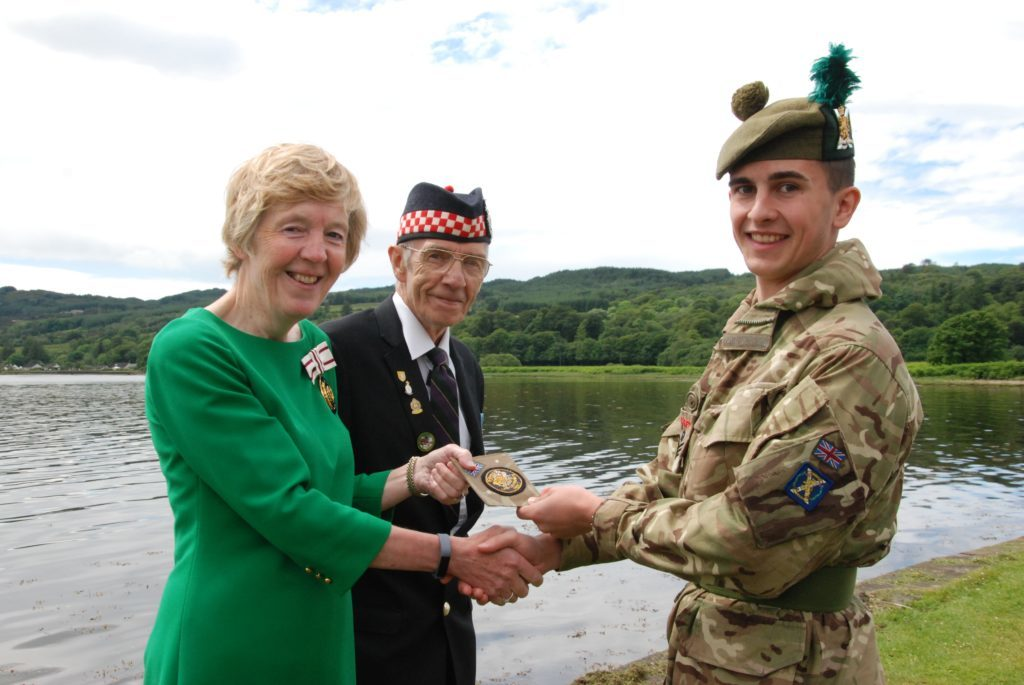 Cadet Connel gets special Argyll and Bute honour