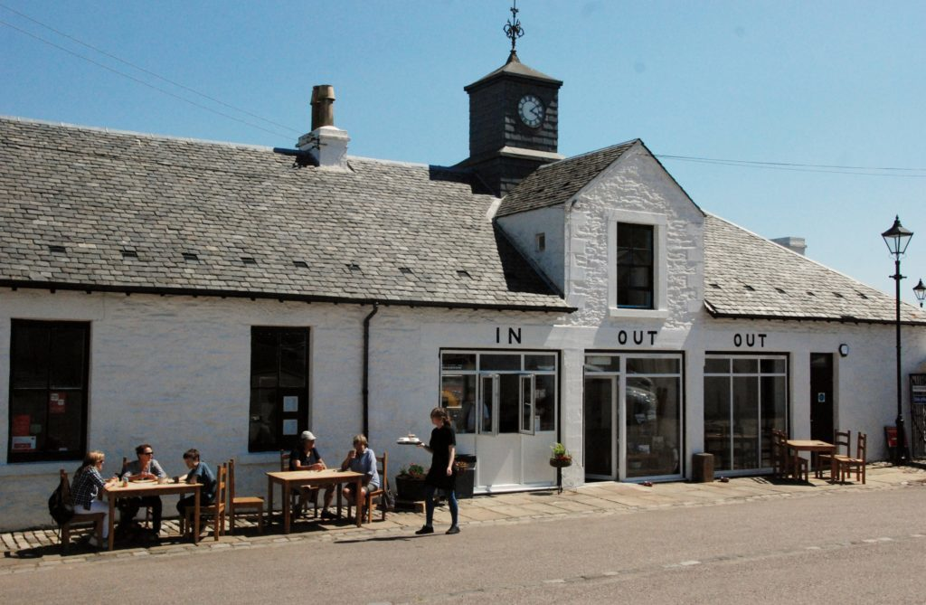 Ardrishaig revival builds steam with cafe re-opening