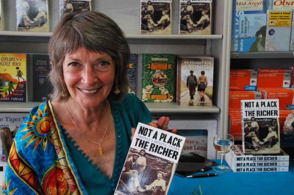 Argyll author unveils her new book