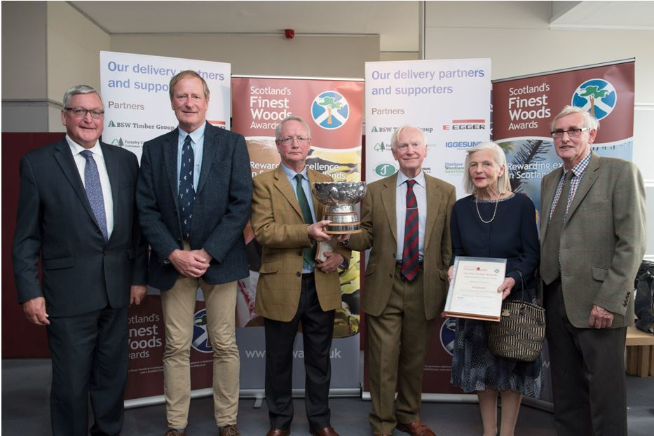 Argyll Forest Wins Top Award in Scotland's 'Tree Oscars'
