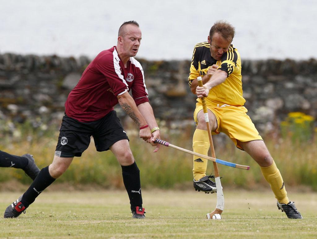 Kyles hammer home a win against Caberfeidh