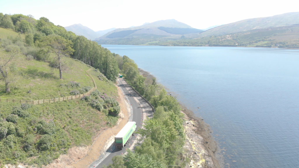 A83 set for Wednesday night Strone Point closure