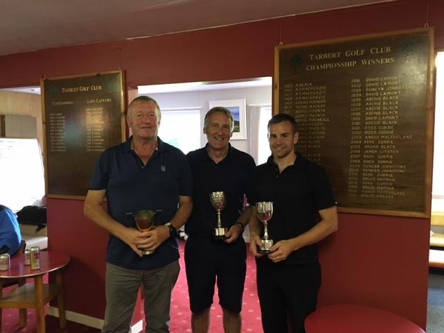 John MacNab wins Tarbert golf club championship for first time