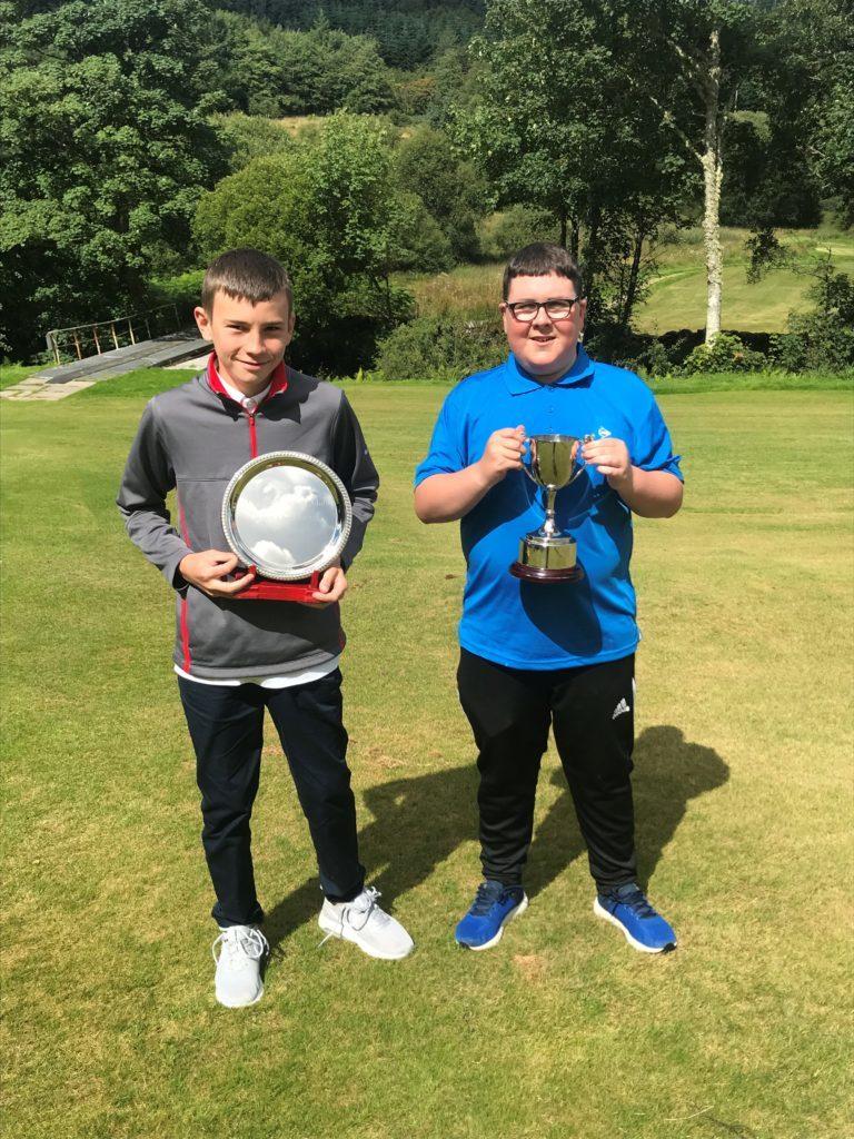 Junior championship at Lochgilphead Golf Club