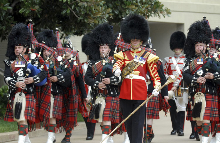 Scots Guards colours go back to their Argyll roots