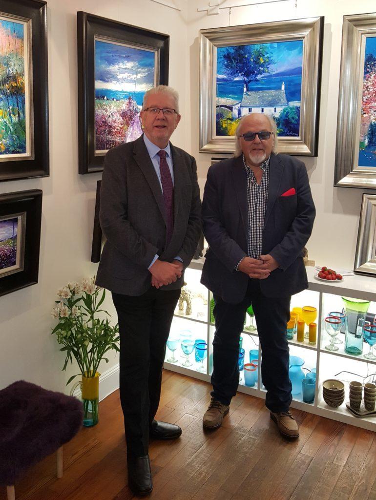 Jolomo exhibition opens at Lochgilphead's Archway Gallery