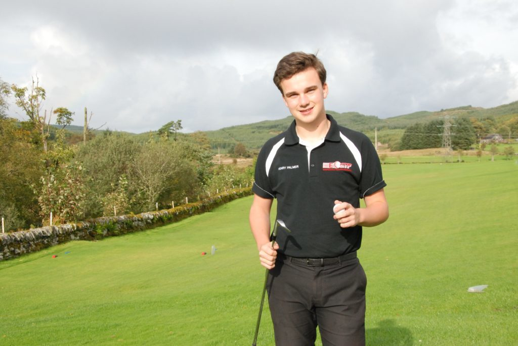 Teenager Henry has drive to succeed