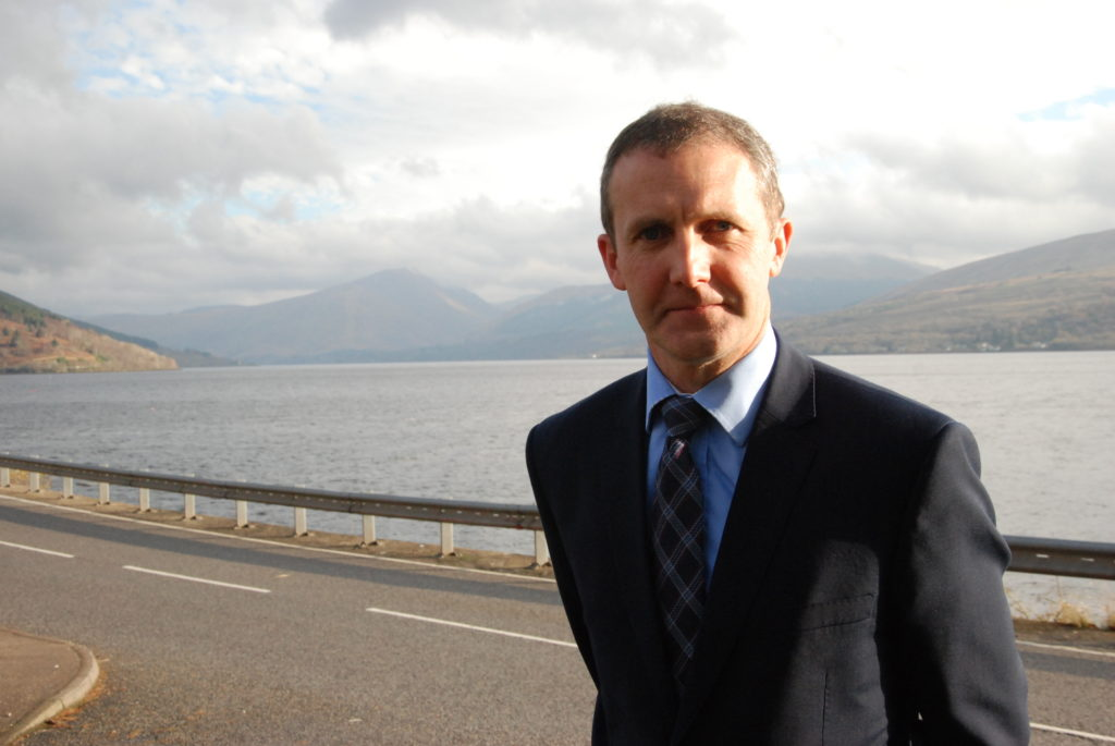 Matheson missing for update on A83 pits and trees