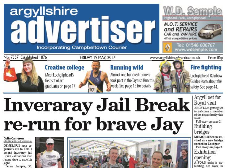 Argyllshire Advertiser PDF Archive 2017