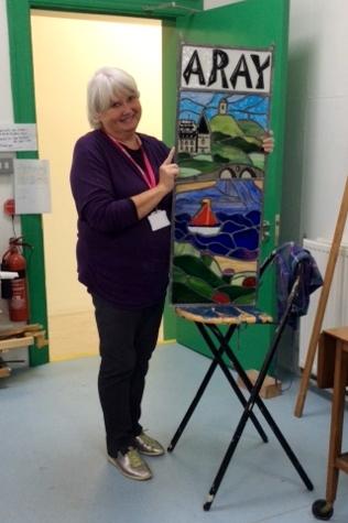 Alison McWee unveils 'opaque glass window'