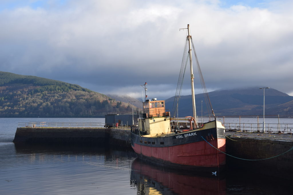 Over to you, Inveraray, as projects make progress