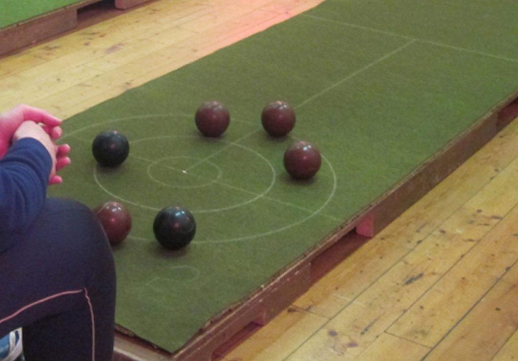 Inveraray Carpet Bowling Club festive pairs competition
