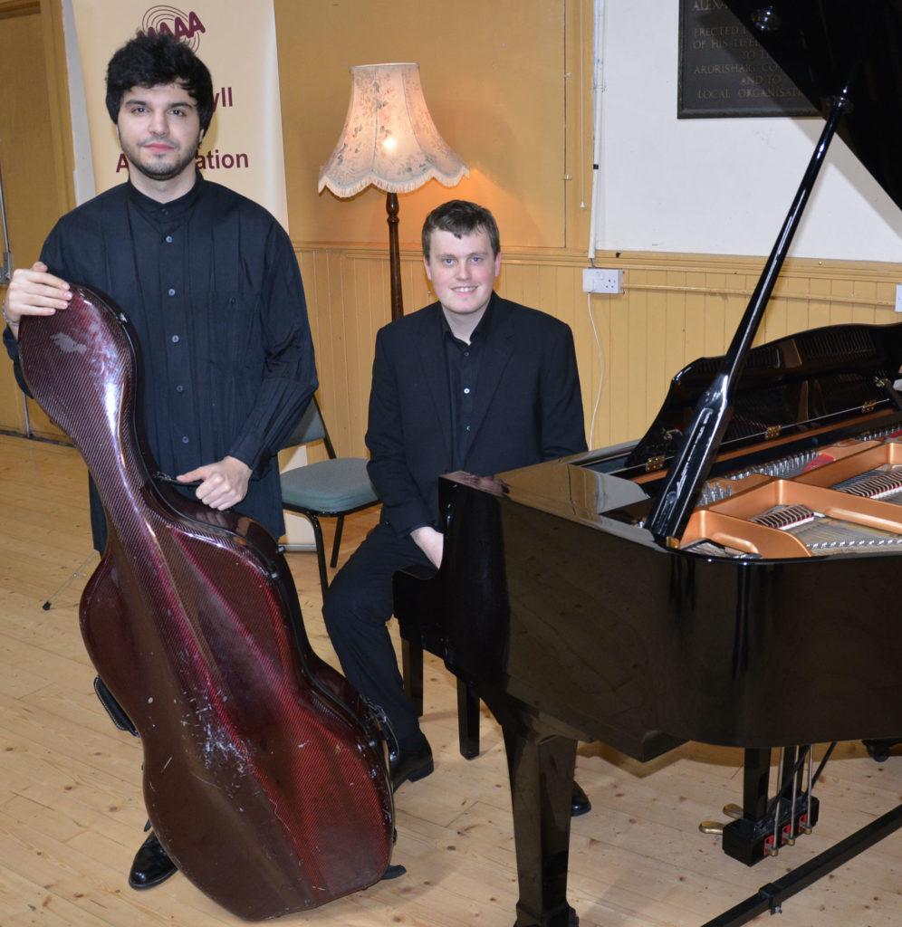 Coleman and Aliyev impress Ardrishaig