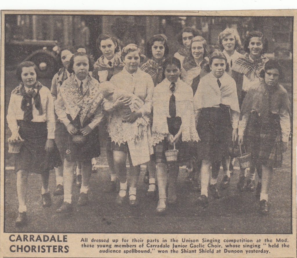The Carradale Choristers: Mod stars of yesteryear
