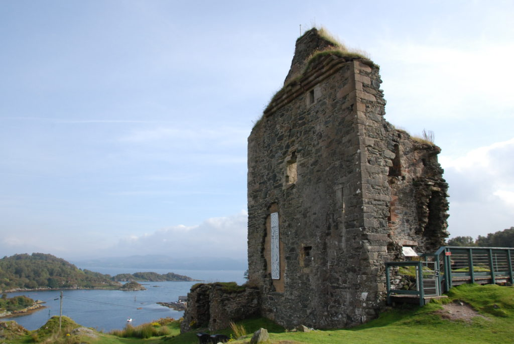 Dig planned for Tarbert Castle