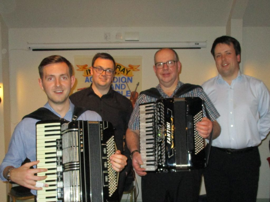 Inveraray Accordion and Fiddle Club rings in the new year