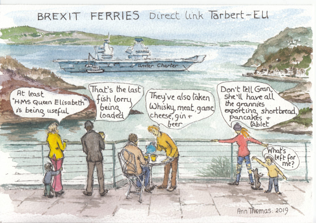 Brexit – navel gazing and naval support