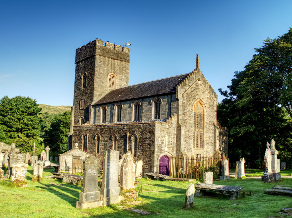 Angel steps in to save Kilmartin Church